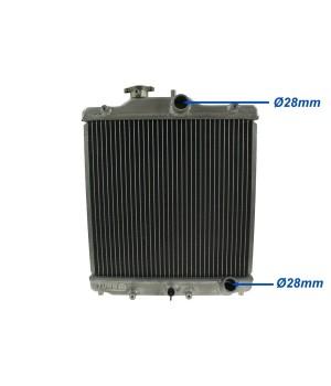 Алюминиевый радиатор Honda Civic 1992-2000, порты 28мм